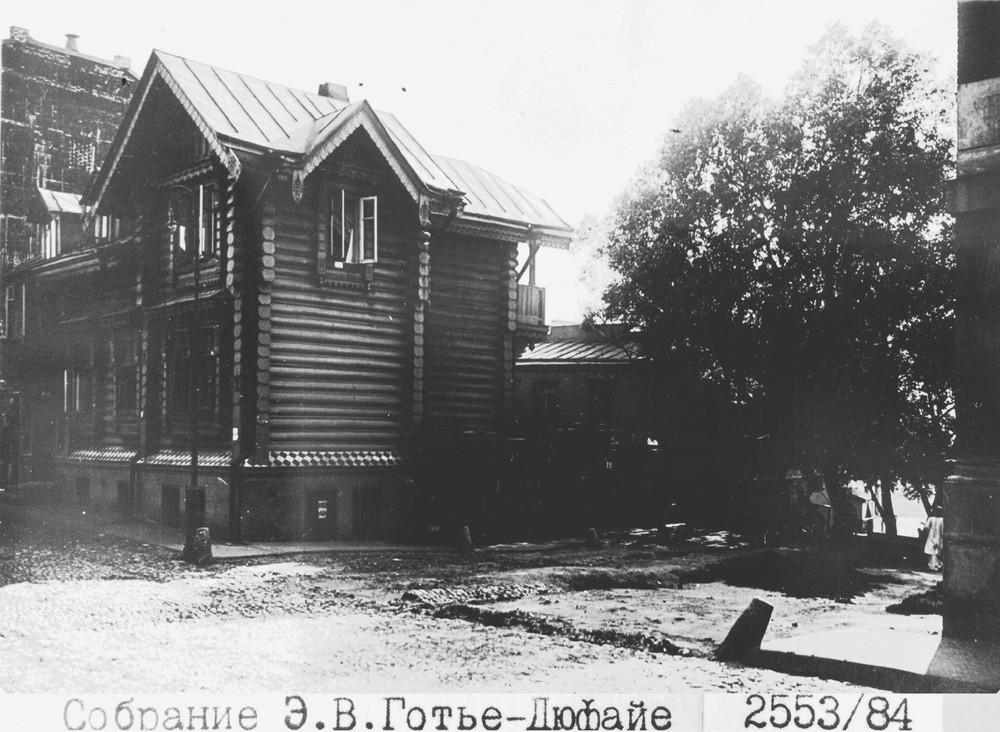 16471 Благовещенский переулок. Проход к Москва-реке