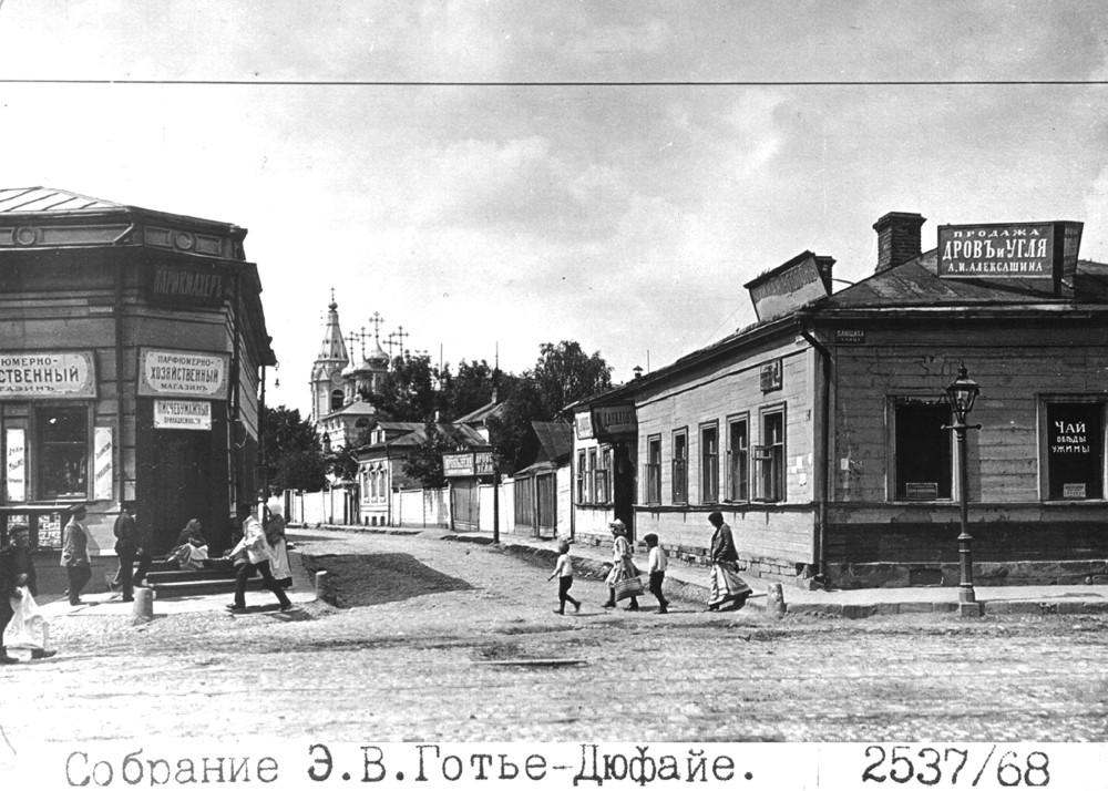 16696 Ростовский 6-й переулок с Плющихи. Ц. Благовещения