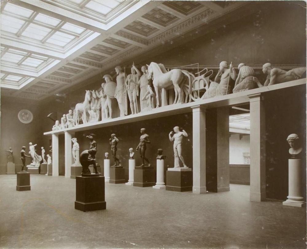 369635 Зал классической греческой скульптуры Музея изящных искусств им. Александра III