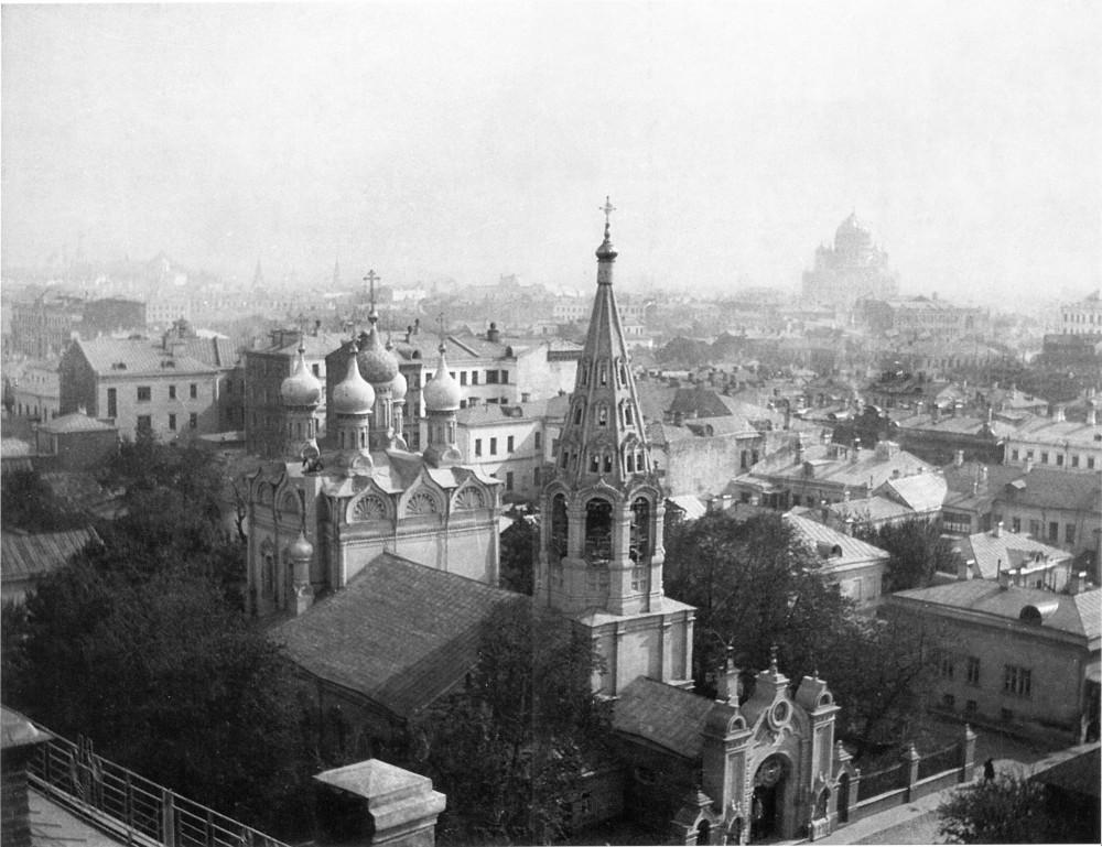 34793 Вид из дома на Спасопесковской площадке на юго-восток
