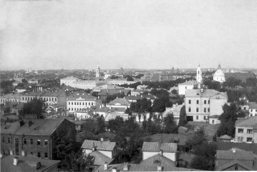 34335 Вид из дома на Спасопесковской площадке на север