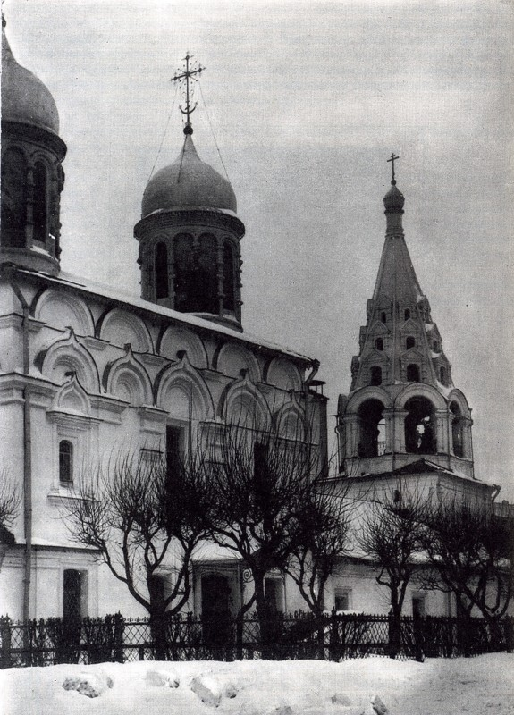 Спасопесковские храмы Москвы