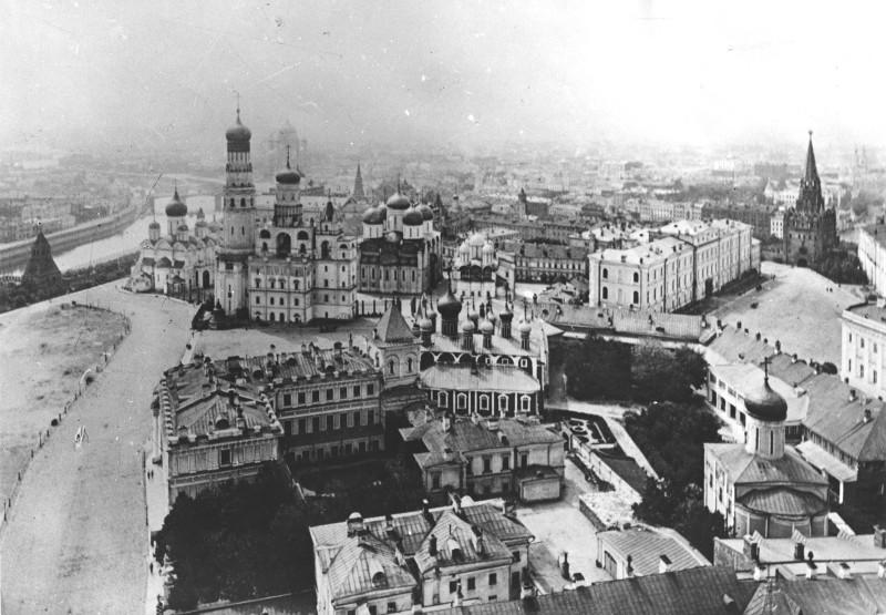 Кремль с высоты птичьего полёта