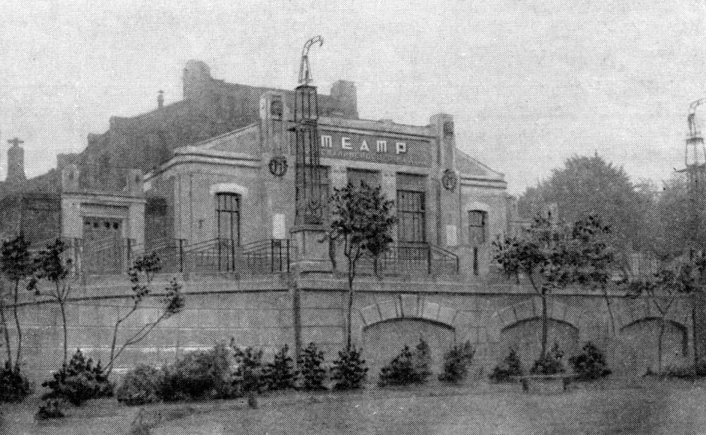 102424 Площадь Журавлёва (Введенская). Театр Сталинского района кон. 30-х
