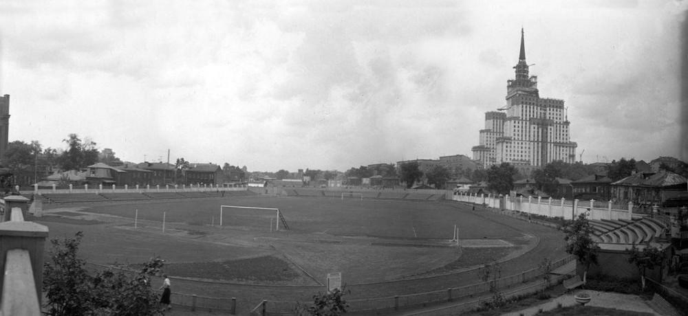780589 Стадион Метростроя на Красной Пресне(1)