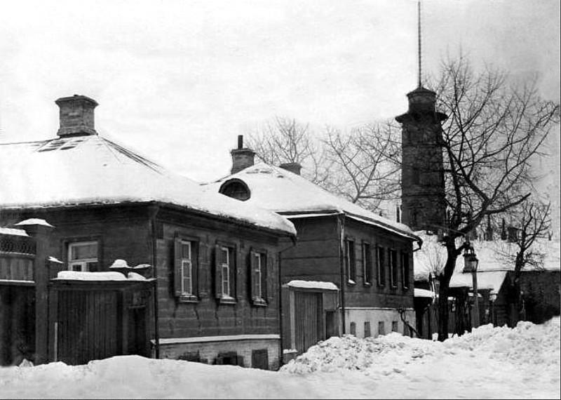 Большой Спасский переулок. Дом Ермоловой 1910-е гг.