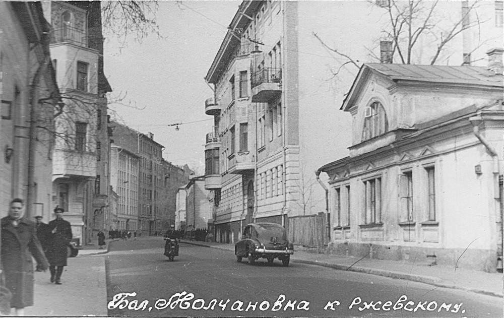 161417 Большая Молчановка нач. 60-х Иван Васильевич Добровольский