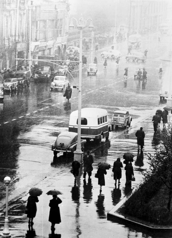 Москва в 1950 году