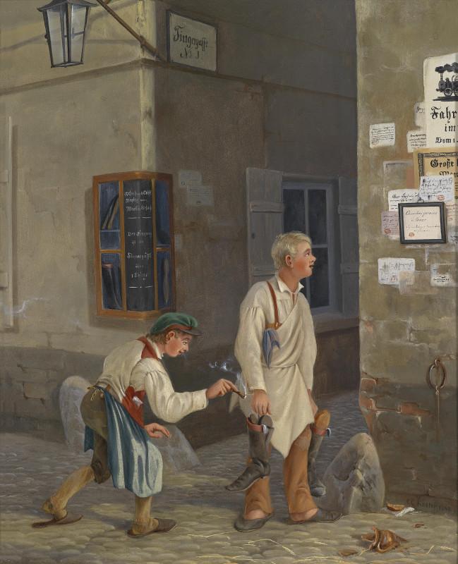 Carl_Georg_Köster_Der_kleine_Lausbub_1848