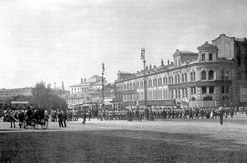 Москва столетней давности