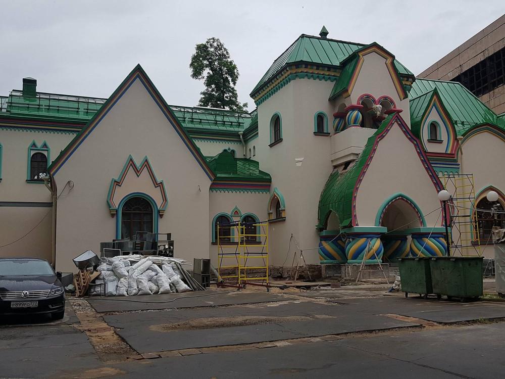 Красота неземная Чудеса, современной, реставрации, Опознаем, домик, Построен, проекту, известнейшего, архитектора, Домик, начала, подвергнут, реставрацииреконструкции, такой