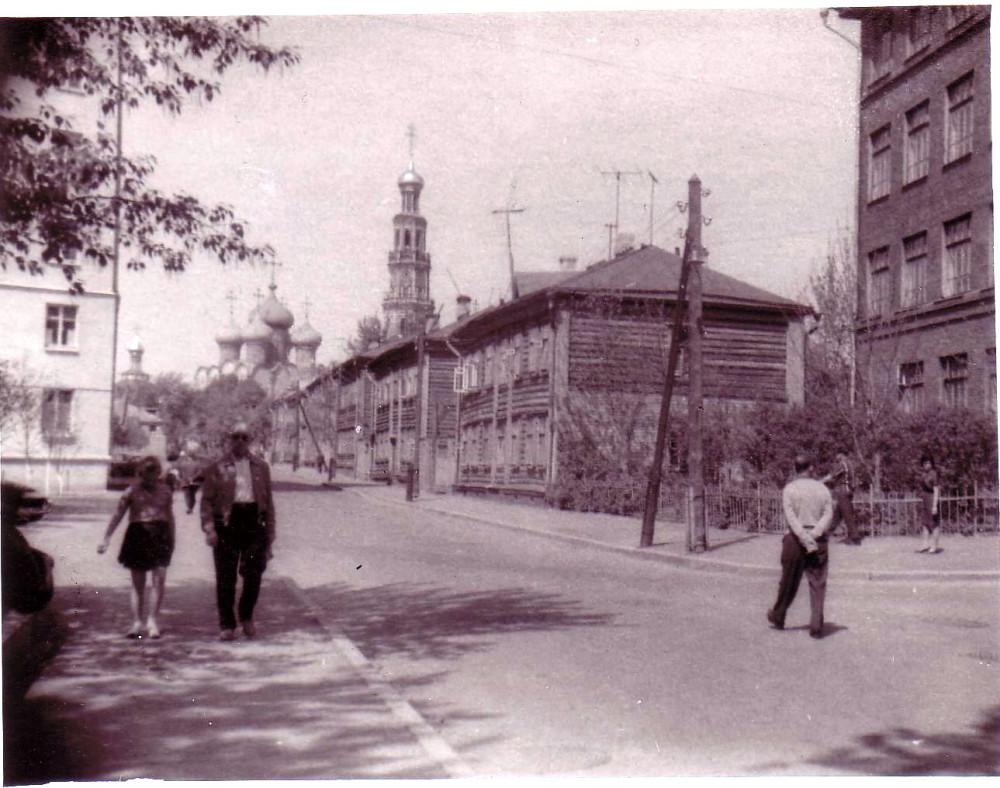 200025 Учебный переулок. Вид на Новодевичий монастырь Сергей Бунтман 66
