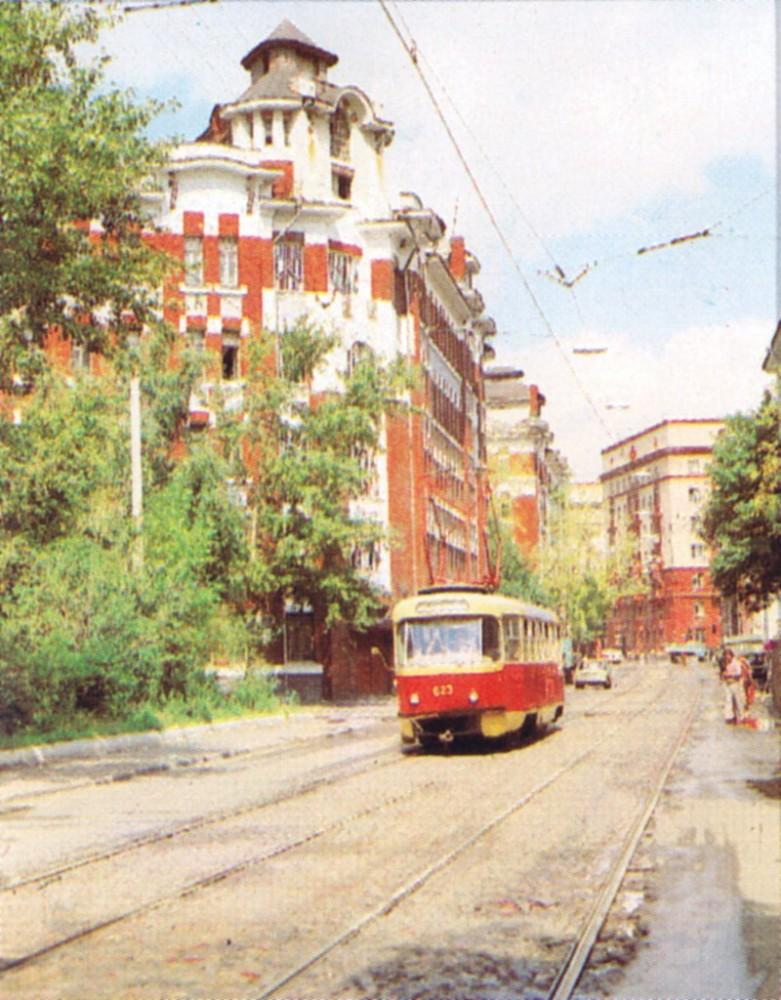 21585 Трамвай на улице Гиляровского