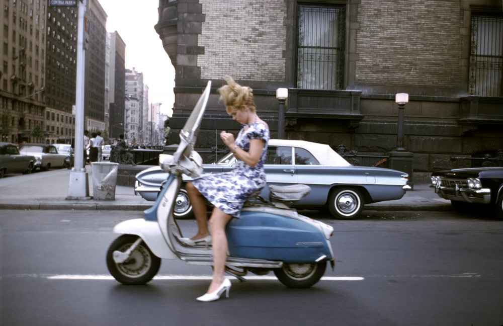 570062 Girl on a Scooter (near The Dakota Apartments) Joel Meyerowitz 65