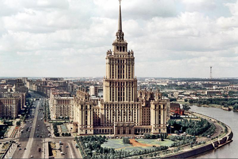 793692 Кутузовский проспект. Гостиница «Украина» Иван Денисенко 67