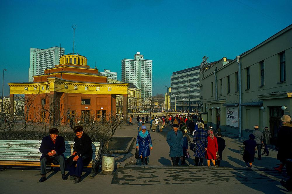 797891 Наземный вестибюль станции метро _Арбатская_