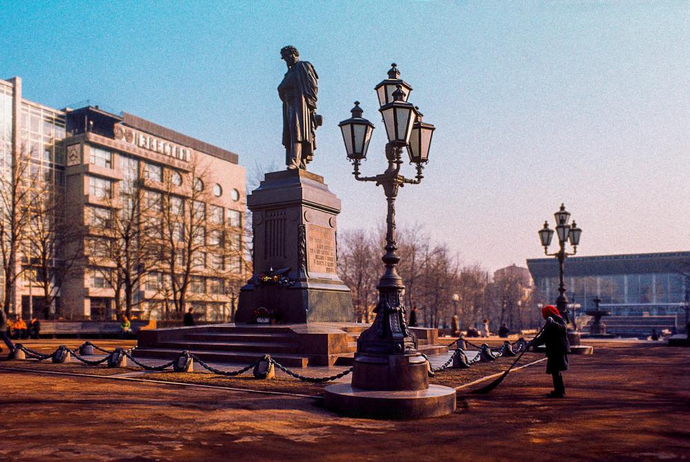 797947 Памятник А.С. Пушкину на Пушкинской площади