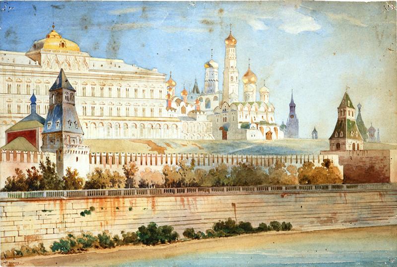 Кремль полтора века назад