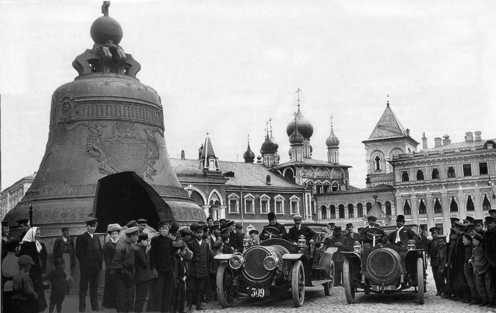 8401 Первые автомобили в Кремле