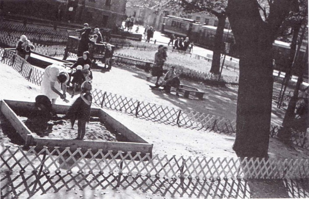 1994 Сквер на Пятницкой улице