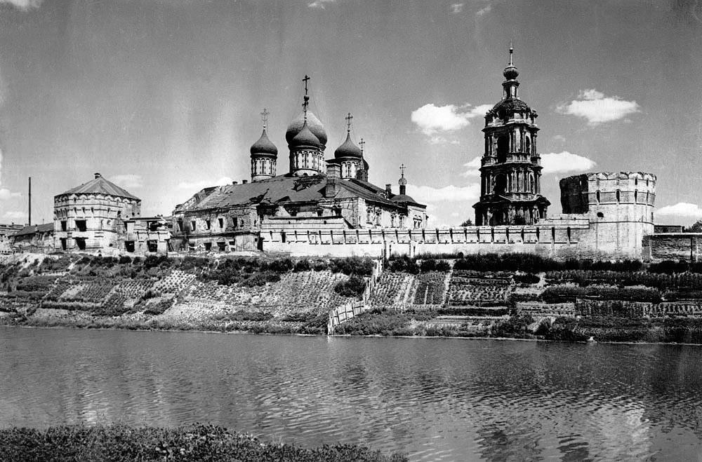 111 Общий вид, Новоспасский монастырь