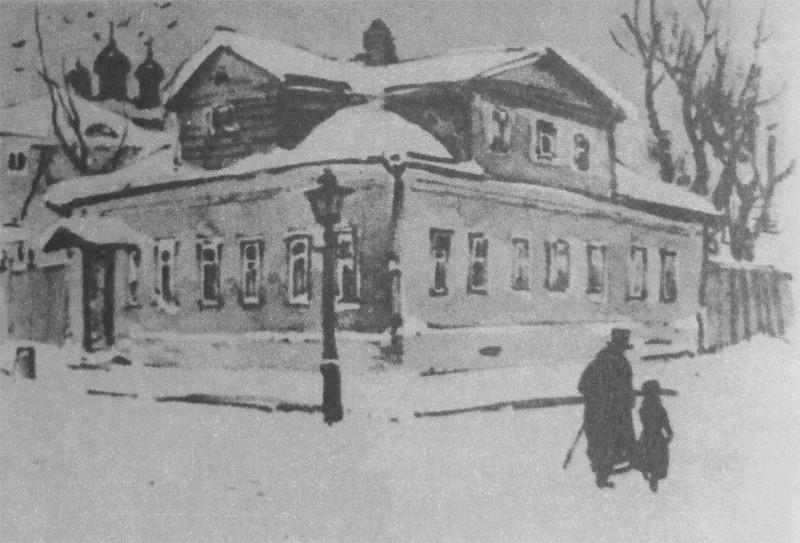 Дом Садовских в Трёхпрудном переулке