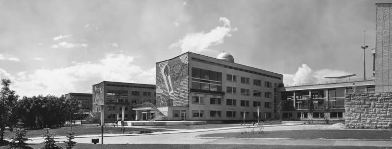 107003 Дворец пионеров на Ленинских горах. А.А.Александров 60-е