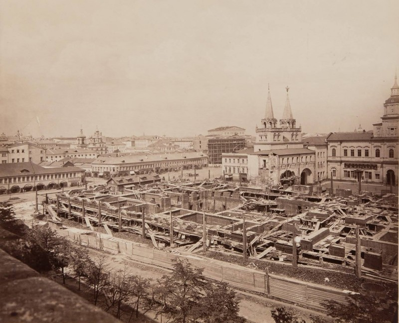 430698 Начало строительства Исторического музея