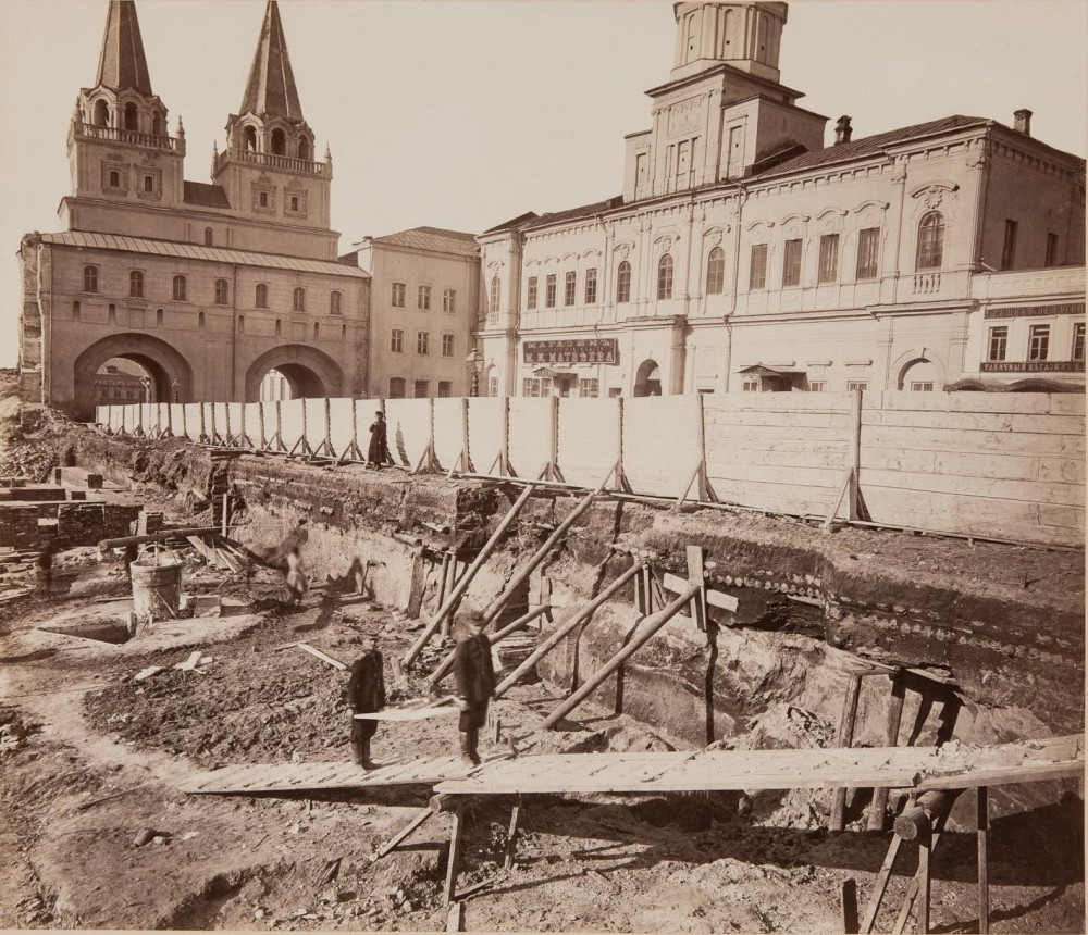 430693 Начало строительства Исторического музея