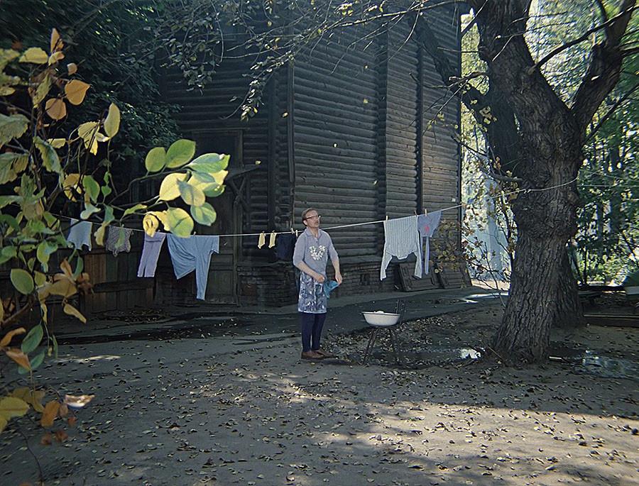 823045 Двор в переулке Чернышевского
