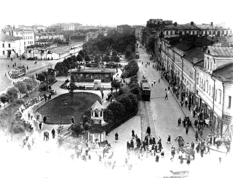Ещё одна московская площадь и сквер