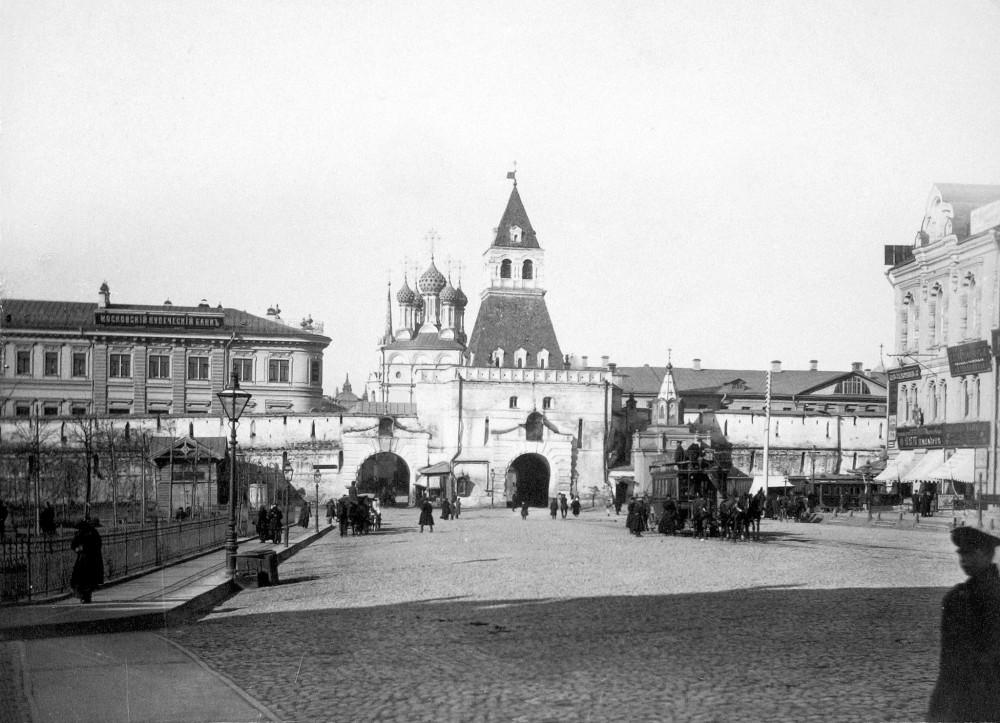 Ильинские ворота П. П. Павлов нач.00-х