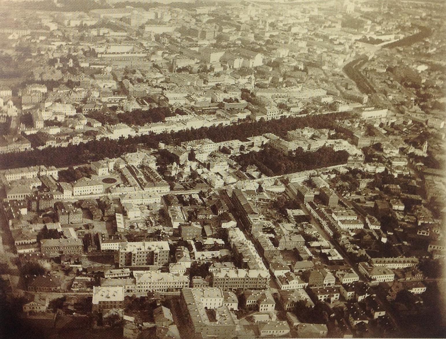 377659 Вид Москвы с аэростата(1)