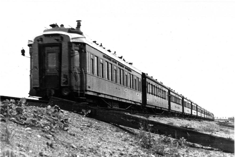 877017 Поезд _Красная Стрела_ на станции Крюково