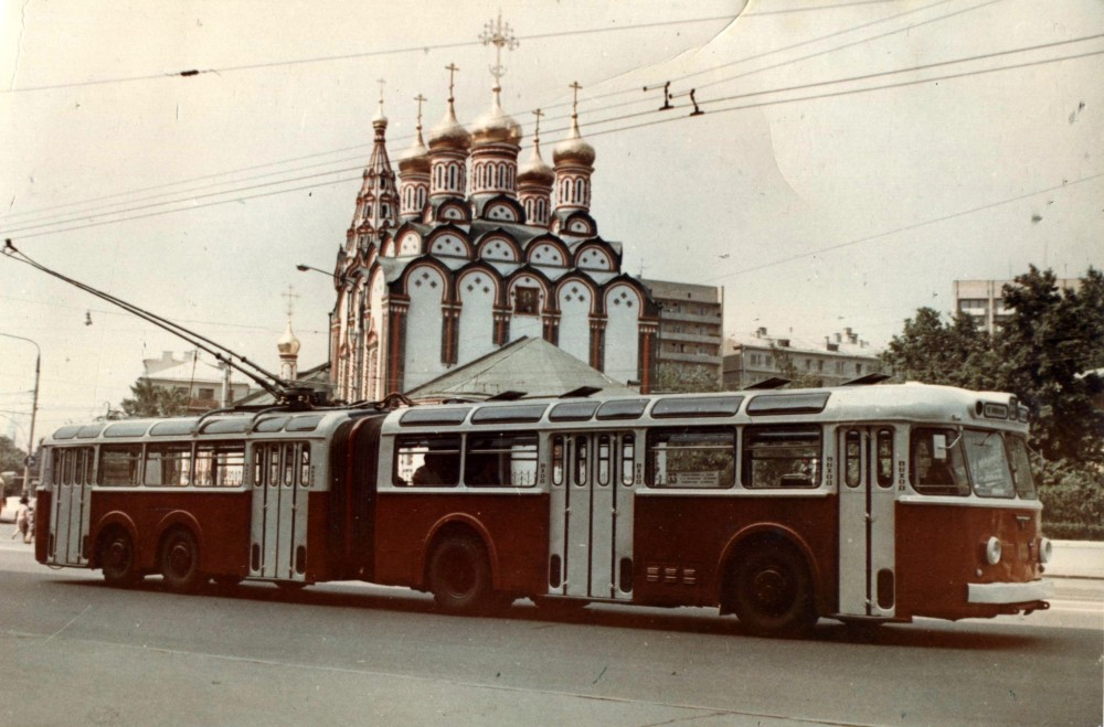 755402 Троллейбус ТС-2 кон. 60-х