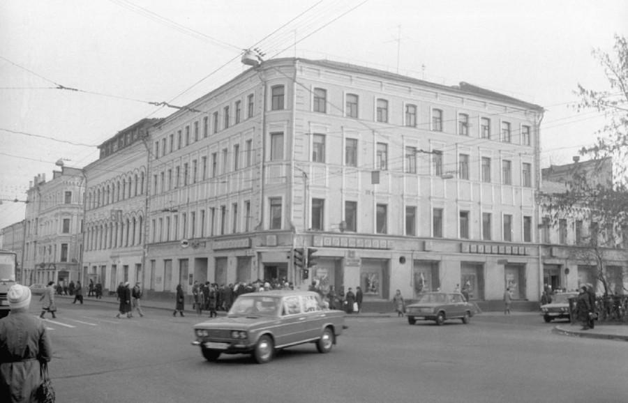 Сретенские ворота сер. 80-х