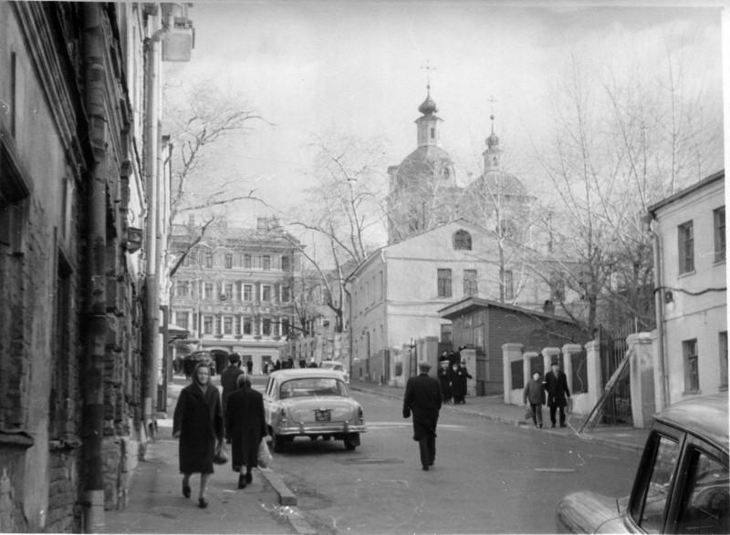Звонарский (тогда - 2-й Неглинный) переулок