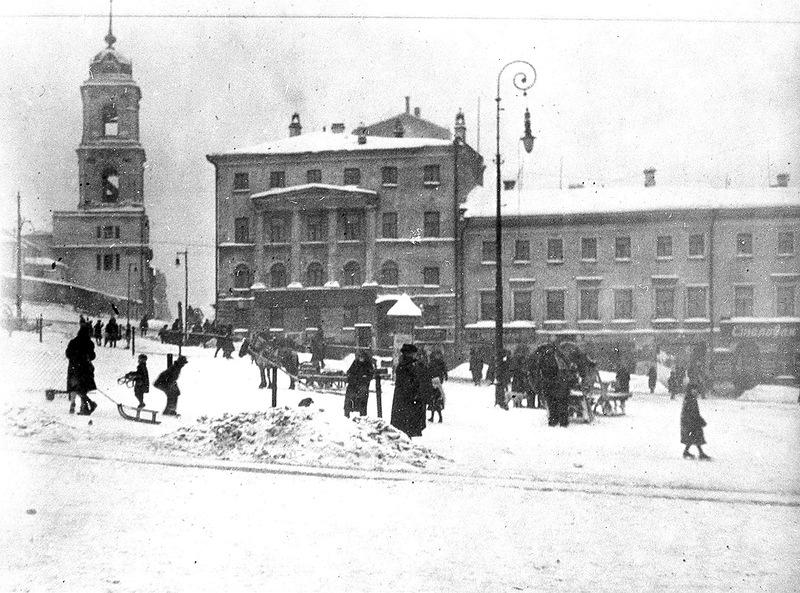 57910 Вид с Трубной площади на Рождественку