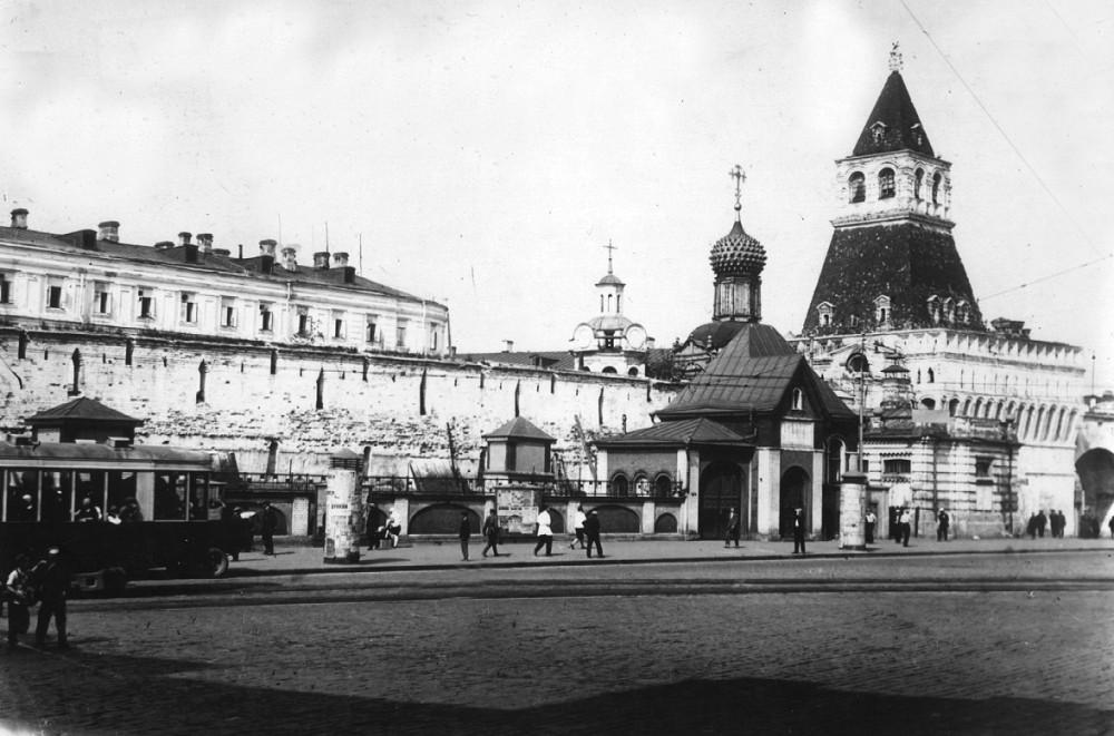 7584 Лубянская площадь. Владимирские ворота