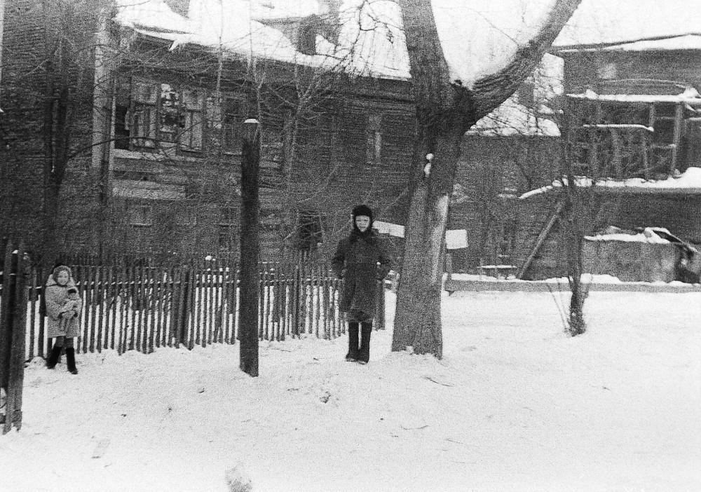 269440 Двор дома ул. Палиха, 10 Кузнецов Дмитрий нач.60-х