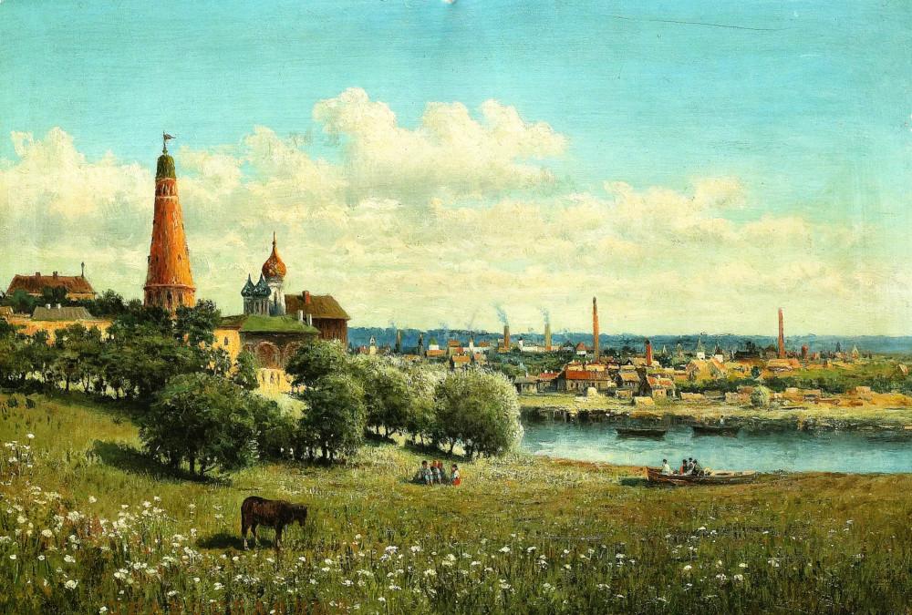 1049850 Вид Симонова монастыря близ Москвы