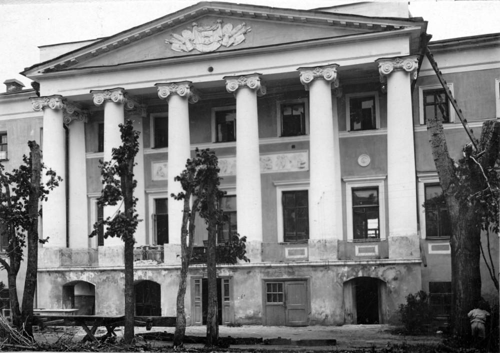 64521 Усадьба Хитрово в Подколокольном переулке Лебедев