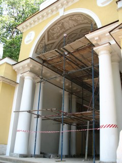 Павильон в Царицыно.Реставрация.