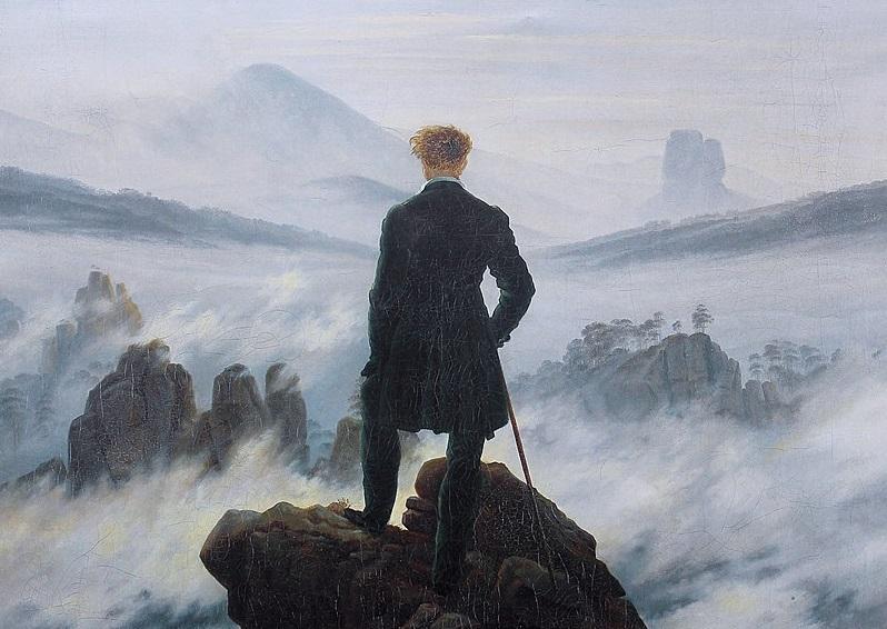 Каспар Давид Фридрих. «Странник над морем тумана» (1818)