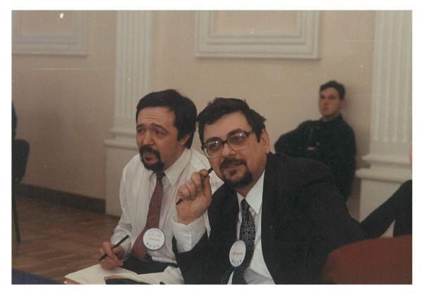 Павел Яблонко и Александ Иванов