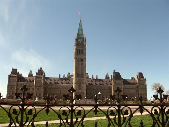 Здание канадского парламента