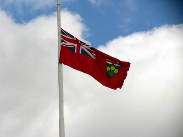 38. Флаг Онтарио