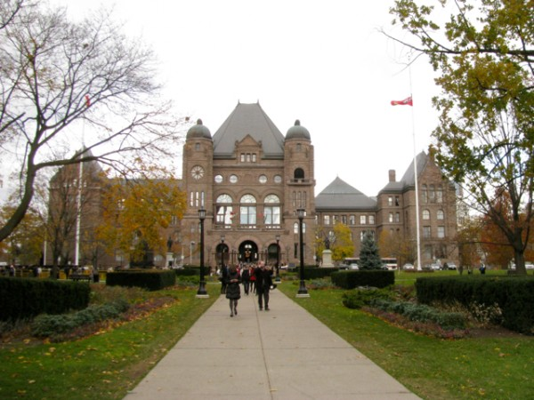 Здание парламента Онтарио