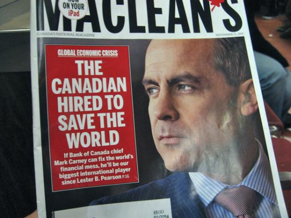 67. В метро читаю свежий выпуск Maclean's - канадского аналога Time