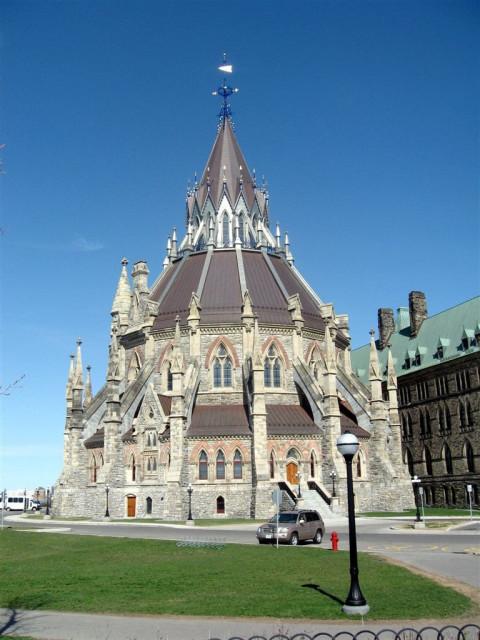 Здание библиотеки Парламента